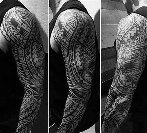 full body tribal tattoo 50 polynesian arm designs for manly tribal