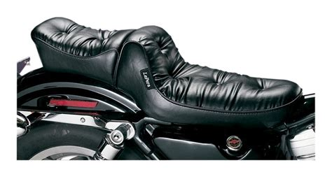 sportster 48 le pera seat le pera regal plush seat for harley sportster 1982 2003