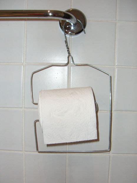 hanging toilet paper holder wire coat hanger toilet roll holder all