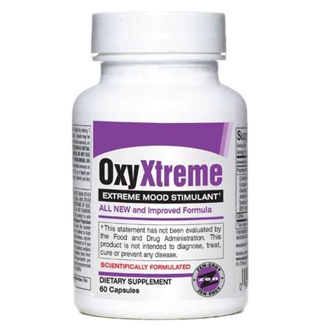 Oxy Overall oxy xtreme 60 caps by brand new energy burner