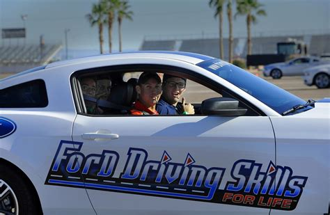 ford driving skills for advanced driving skills program begins second decade with new