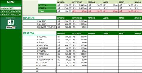 como fazer uma planilha de gastos mensais excel  vba brasil