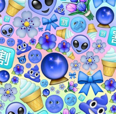 dark emoji wallpaper blue light dark emoji edit edits pinterest blue