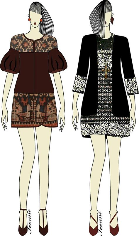 Atika Dress pin by atika hendryani on ikat indonesia