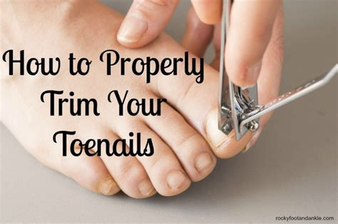 how to cut s toenails how to properly cut toenails how to properly trim your toenails