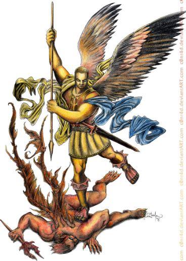 lucha contra el demonio arc 225 ngel miguel en lucha contra el demonio san miguel arc 225 ngel