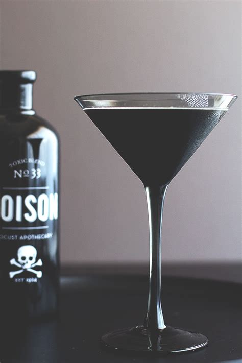black cocktail picks 8 eerie cocktails