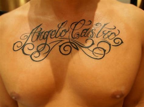 tattoo font on chest the gallery for gt tattoos for women on arm writing