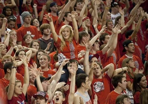 Gonzaga Student Section by Gonzaga Photos Best College Us News
