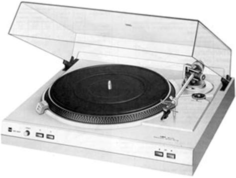 Dual Cs 607 Manual 2 Speed Direct Drive Turntable