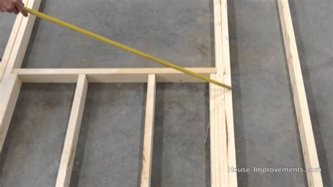 how to frame a door opening door frame frame garage door opening