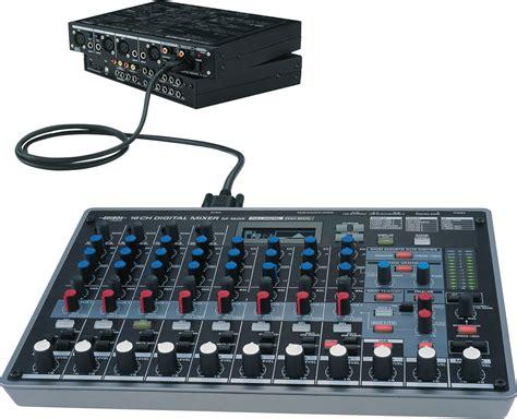 Mixer Roland roland m 16dx 16 channel digital mixer