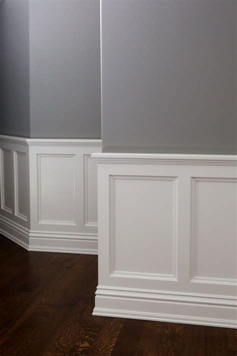 Custom Wainscoting by Custom Wainscotting By Absolute Cabinets Home In 2019