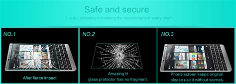 Bb Passport Amazing H Tempered Glass Protective 9h By Nillkin Bla nillkin amazing h tempered glass screen protector for