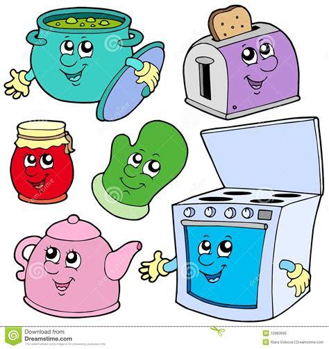 Free Toaster Desenhos Animados Da Cozinha Foto De Stock Royalty Free