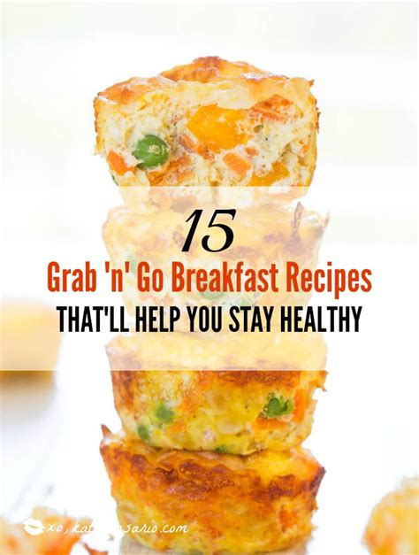 15 on the go breakfast recipes parenting 15 grab n go breakfast recipes that ll help you stay