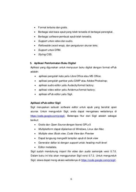 Format Buku Digital Serta Alat Bacanya | buku digital e pub