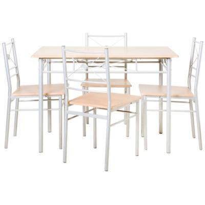 comedor homecenter juego de comedor 4 sillas cherry sodimac