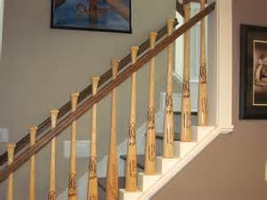 Stair Rail Balusters Baseball Bat Baluster Stair Railing Deck Railing