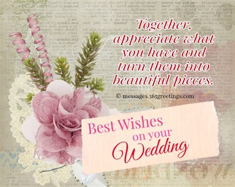 Wedding Wishes For And In by Wedding Wishes And Messages 365greetings