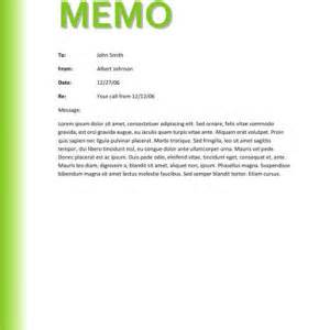 simple and effective office business memo template example