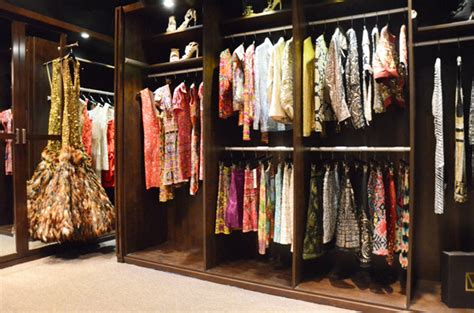 the custom closet of naeem khan who caters to