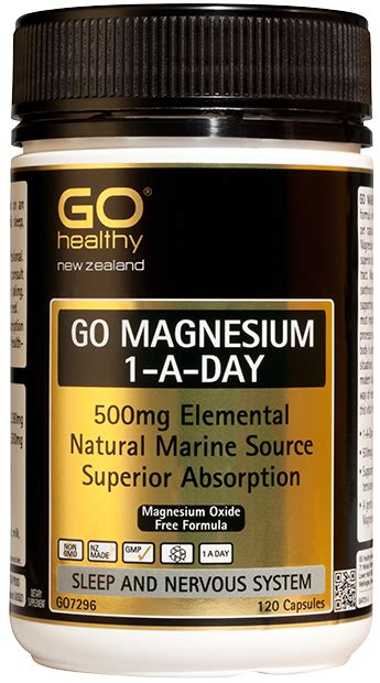 taking magnesium before bed magnesium 1 a day 500mg 120 caps proactive