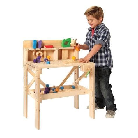 kids wooden work bench kids treehouse wood workbench set onedayonly co za