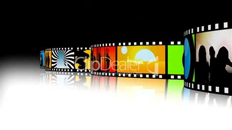 entertainment  film strip  royalty  video  stock footage
