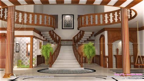 hall in house designs interior staircase design in main hall for duplex house youtube