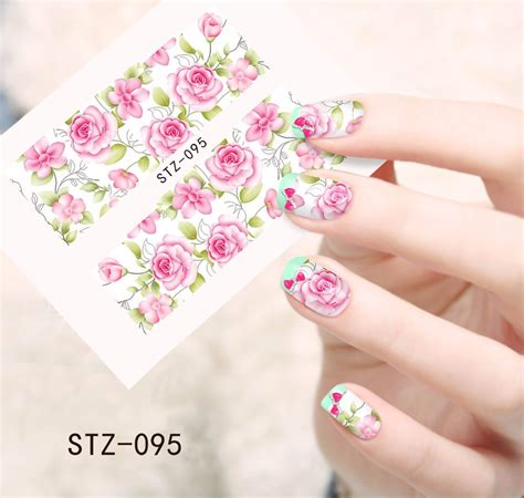 watermerk bloem online kopen wholesale roze nail stickers uit china roze