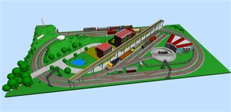 online train layout design new database with free layouts and track plans online page 3