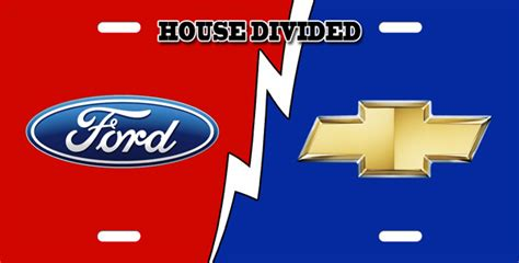 house divided license plate chevy ford house divided license plate license plate