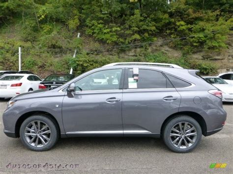 gray lexus rx 350 2013 lexus rx 350 f sport awd in nebula gray pearl photo