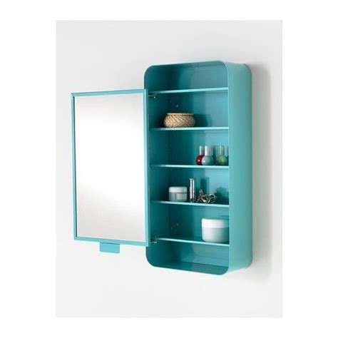 ikea badezimmer blau gunnern spiegelschrank 1 t 252 r t 252 rkis ikea inspiration