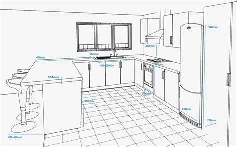 kitchen design layout measurements standard kitchen layouts for any kitchen