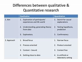 Image result for what is the differences between qualitive and quantitive in thesis