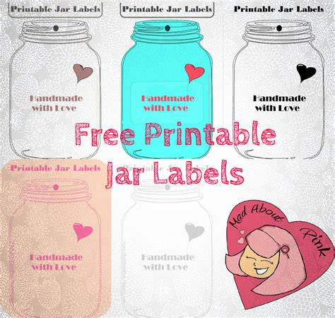 free printable jar labels mason jar birthday invitation templates printable free