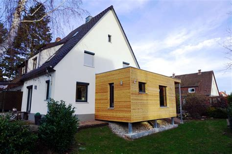 neubau eines anbaus an ein bestehendes wohnhaus holzbau - Anbau An Ein Bestehendes Wohnhaus