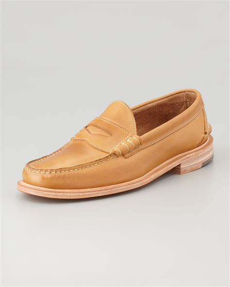 martin loafers walk martin loafer in brown lyst