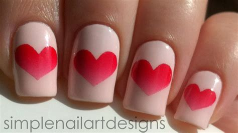 nail for valentines s day nail tutorial