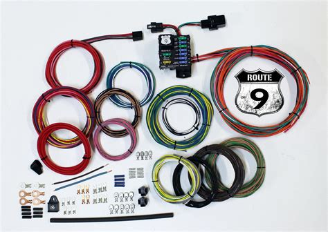 american autowire 510625 car wiring harness route 9