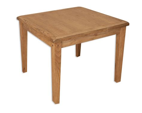 Chunky Solid Oak Dining Table Hton Chunky Solid Oak Small 90cm X 90cm Dining Table Mn2728