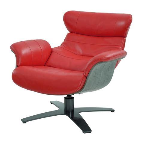 Enzo Red Leather Swivel Chair El Dorado Furniture Enzo Swivel Chair