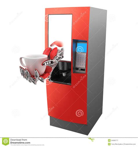 Coffee Machine (vending Machine) Stock Image   Image: 24595777