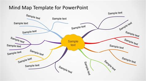 mind mapping template creative mind map template for powerpoint slidemodel