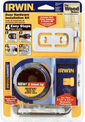 irwin tools door lock installation kit irwin industrial tool 3111001 carbon door lock