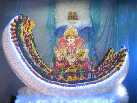 ganpati decoration ideas at home pooja room designs the gallery for gt simple ganpati decoration ideas at home