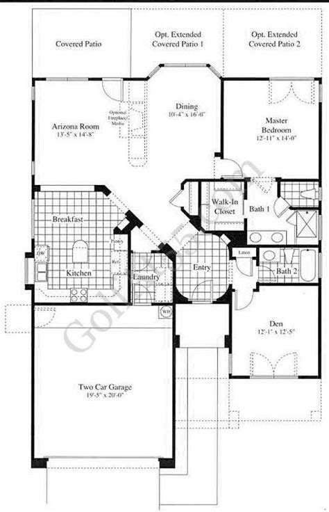 amazing continental homes floor plans arizona new home