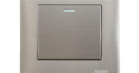 Nero Saklar Stainless V8 V81622 cv daya anugrah utama saklar nero